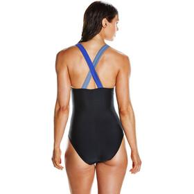 speedo HydrActive Swimsuit Women Black/Vita Grey/Diva